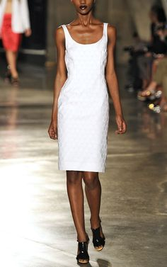 Jonathan Saunders White Teardrop Suvi Dress, gorgeous dress but a lot to pay for unlined article