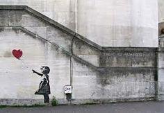 banksy: girl with balloon