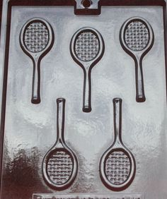 TENNIS RACKET CANDY MOLD MOLDS PARTY FAVORS SPORTS