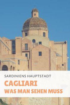 Im Sardinien Urlaub darf ein Besuch der Hauptstadt Cagliari nicht fehlen! Hohl Dir die besten Tipps für einen Ausflug Camping Holiday, Short Trip, Elba, Taj Mahal, Road Trip, Places To Visit, Europe, World, Building