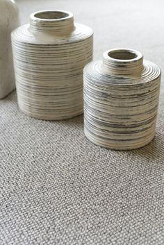 Tufted carpet / loop pile / wool / for domestic use - BEACHCOMBER - Brockway