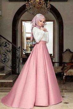 Tesettür Etek Kombin Önerileri   Alımlı Kadın Muslim Prom Dress, Hijab Prom Dress, Muslimah Wedding Dress, Hijab Evening Dress, Muslim Wedding Dresses, Indian Gowns Dresses, Pakistani Dresses, Moda Emo, Muslim Fashion