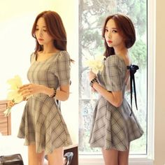 kfashion bowknot dress