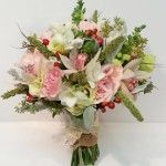 Pink Wedding Flower Bouquets - Dahlia Floral Design