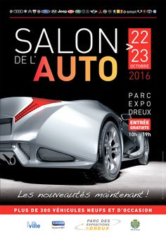 Salon de l'Auto du 22 au 23/10 Parc Expo de #Dreux #salonauto