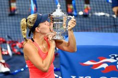 September 2016 - 2016 US Open Women's Singles Champion Angelique Kerber during the 2016 US Open at the USTA Billie Jean King National Tennis Center in Flushing, NY. Angelique Kerber, Tennis Center, Billie Jean King, Under The Lights, Us Open, September 10, Champion, Earth, Sports