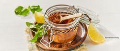 Homemade BBQ-Rub – Rezepte von ALDI Nord Bbq Grill, Grilling, Moscow Mule Mugs, Peanut Butter, Tableware, Bbq Rub Recipe, Oven, Simple, Recipies
