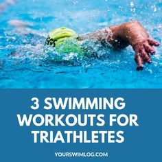 Looking to throw down on race day? These three swim workouts for triathletes will help you dominate the swim leg of your next triathlon. Lap Swimming, Open Water Swimming, Swimming Tips, Swim Workouts For Triathletes, Swimming Workouts, Triathlon Swimming, Triathlon Training Program, Training Programs, Cycling Workout