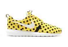 """The Nike Roshe Run NM """"Polka Dot"""" Pack Is Here To Help You Stand Out"""
