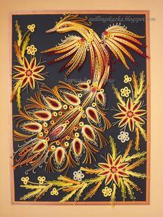 Волшебная сказка про квиллинг: Птица СЧАСТЬЯ!!!!