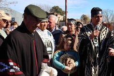 Con un día esplendido se realizó la fiesta de la Pachamama en Olascoaga