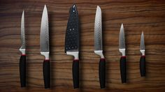 Tupperware Chef Series Pure Knives Collection - Couteaux Prestige