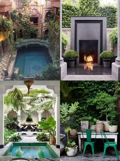 """Patio and Garden Design Ideas on Hutsly - Pinterest Inspiration. The Joneses have got new garden furniture; and they're bragging about it. Of course your competitive self is thinking: """"I could do better"""". But decorating a patio, a backyard, a porch, a balcony or a terrace is no easy task and you may be lost for ideas. Where to start? Right here!"""