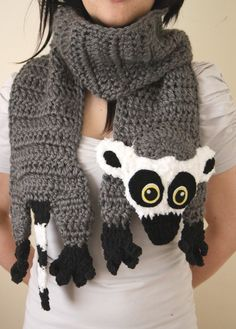 Lemur Scarf-I would SO wear this!!