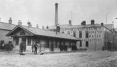 Victoria Square, Belfast, c. 1886. The Cantrell & Cochrane factory was the Belfast town hall 1842 to 1871. Thomas Lindsay had his office here.  This is now part of the Victoria Square development.  See full size. Out of copyright photo, think from the Lawrence Collection, posted by Gerry Ward.