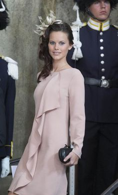 Sofia Hellqvist, set to marry Sweden's Prince Carl Philip next month and current Queen of Updos and Hair Accessories