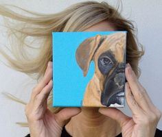 a cute option for your Custom Dog Portraits by PopArtPetPortraits on Etsy, $65.00