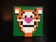 Custom Lego Tigger Mosaic (16x16). $25.00, via Etsy.