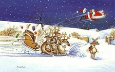 Funny Father Christmas Reindeer Cartoon Picture it is the best website host to get!