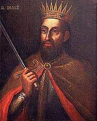 D. Dinis I de Portugal (1261-1325). http://pt.wikipedia.org/wiki/Dinis_de_Portugal | Foto @ Artigo Dinis I de Portugal, Wikipédia em português.