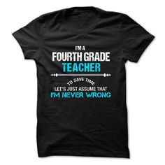 Love being -- FOURTH-GRADE-TEACHER - If you dont like this T-Shirt, please use the Search Bar on top to find the best one for you. Simply type the keyword and hit Enter. (Teacher Tshirts)