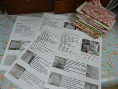 Le blog de Plume de lin - bienvenue dans mon petit atelier...des petits points....des aiguilles et de la patience..... Notions De Couture, Blog, Bullet Journal, Personalized Items, Points, Patience, Flower, Bags, How To Sew