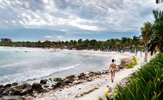 Riviera Maya, Mexico - now I wanna go swimming! via Beers & Beans.com