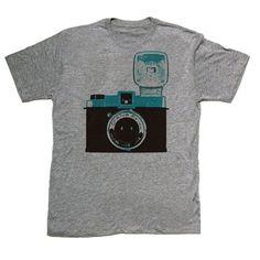 Diana Camera Tee Men's by Skip N' Whistle