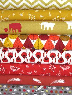 Birch Organic Fabrics, KNIT, Boy Sampler 8 Total