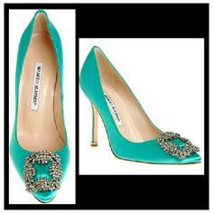 Manolo Blahnik heels - Gorgeous shoes. Carry Bradshaw in SATC :-)