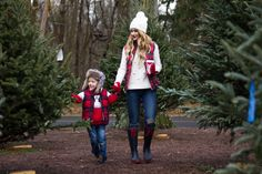 Mother and Son Holiday Outfits. Holiday Outfit, Christmas Card Photo