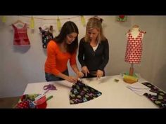 """Watch it without sound if you are scared by a foreign language.  It's a very easy & quick baby top.   Tunika, Kleid, Kittelkleid """"FLORA"""" nähen - für Nähanfänger - Anleitung &..."""