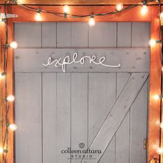 Salvaged Word: Explore | Colleen Attara Studio