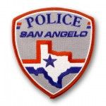 San Angelo Police 70% Embroidery Patch