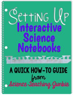I've had MANY requests and questions from customers and blog followers about how I set up my interactive science notebooks. Although I know this is not fancy at all, I did a quick video on my iphone
