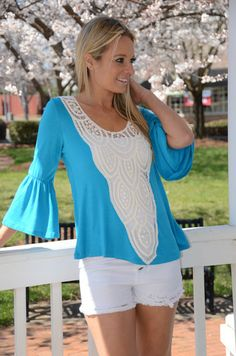 Day Tripper tunic, turquoise – Chapter 2 Boutique