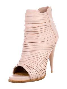 Givenchy Peep-Toe Booties