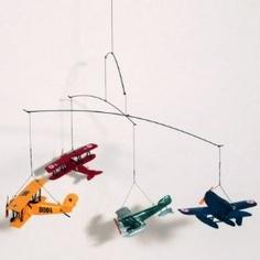 Airplane mobile. http://amzn.to/Hz1Zls