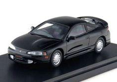 INTERALLIED Hi-Story 1/43 Mitsubishi ECLIPSE 1994 Appalachian Black DieCast F/S  #interallied