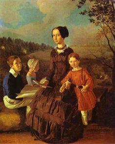 Ivan Khrutsky (1810 – 1885) – Pintor Polonês_5
