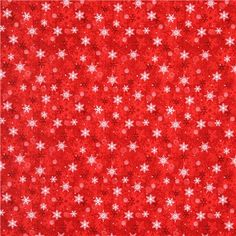 red snowflake winter Christmas fabric Naughty Or Nice Christmas Fabric, Noel Christmas, Winter Christmas, Christmas Cards, Christmas Print, Christmas Decor, Xmas, Pattern Paper, Fabric Patterns