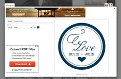 Create a Custom Monogram With These Free Monogram Generators: Custom Monogram Generator at Wedding Chicks