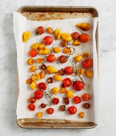 slow roasted cherry tomatoes / @loveandlemons