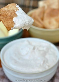 Creamy Apple Pie Dip
