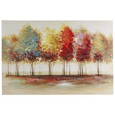Lively Trees Art - 40x60