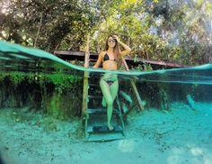 Fervedouros do Jalapão e suas águas cristalinas