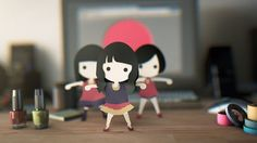 """I wanted them to dance on my desk before going to global.  -- +Perfume global site project 001 http://www.perfume-global.com  +Motion data and Music Go to """"Download"""" of http://www.perfume-global.com  +C4D data desktop_disco.zip(47MB)  +Credit Daihei Shibata: Animation, Planing -http://www.daiheishibata.jp/disco Hiroshi Sato: Character Design, Planing -http://hiroshisato.jp/"""