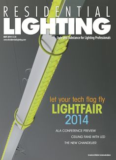 Our May issue features the Brick lighting system from Ingo Maurer, showcased at Light + Building 2014. View the entire digital edition, which features a Lightfair Preview and ALA Conference Preview, here: http://editiondigital.net/publication/?i=208656