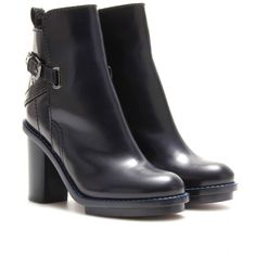 Cypress Leather Ankle Boots : Acne Studios + mytheresa.com