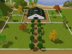 Barn & Pasture layout